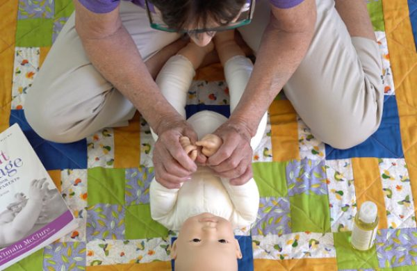 Infant Massage-Baby's Hands & Arms