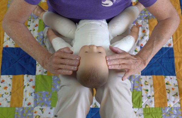 Infant Massage-Baby's Face